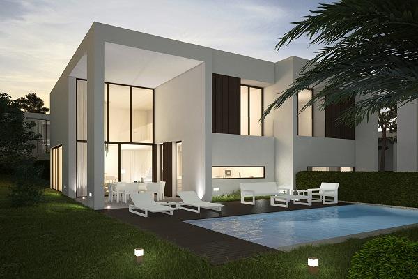 Bouw uw eigen droomvilla met spanje specials in 2016 for Kleine huizen bouwen